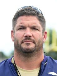 Eaton High School football Coach Brad Davis New England