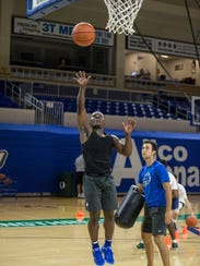 FGCU freshman point guard Darnell Rogers loves to attack