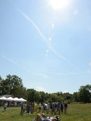 Eclipse viewers spread out and took it easy during
