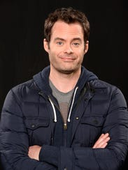 Bill Hader stars as a hit man who wants to be an actor