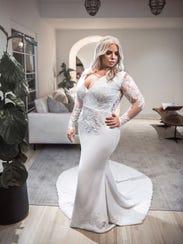 A Glaudi bridal dress designed by Johana Hernandez