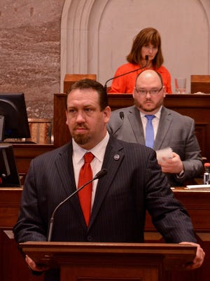 Rep. Jeremy Faison, R-Cosby, wants to stop the use of private prisons in Tennessee.