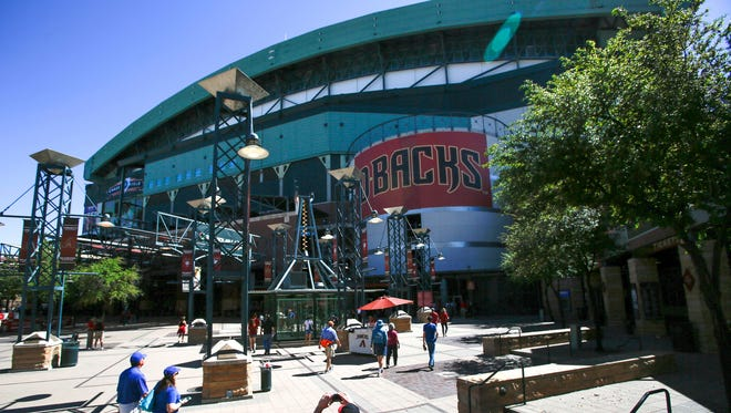 The Arizona Diamondbacks are contemplating a lawsuit against the Maricopa County Stadium District to obtain the right to negotiate with other potential stadium operators.