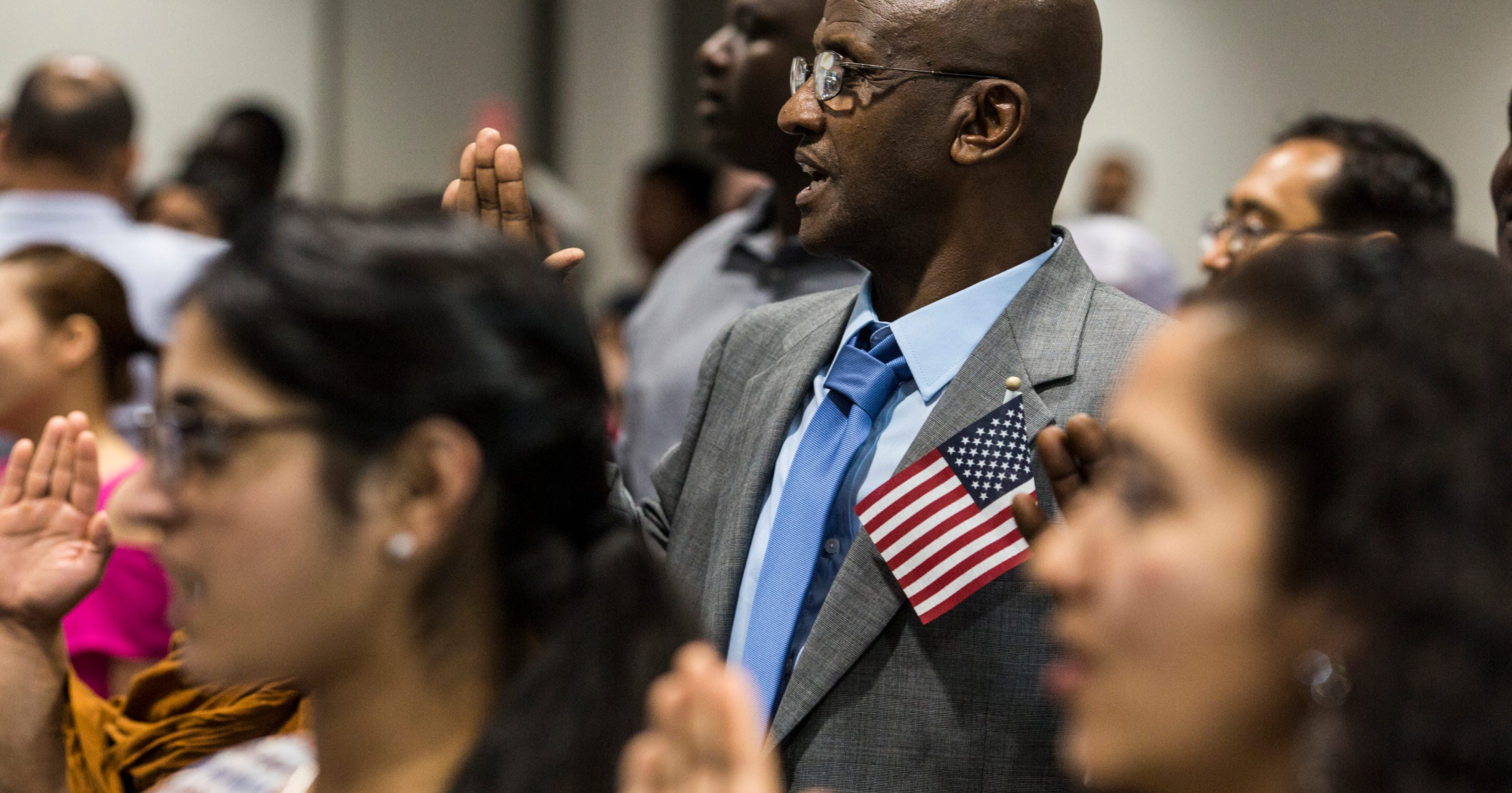 America welcomes 76 new citizens at Memphis ceremony