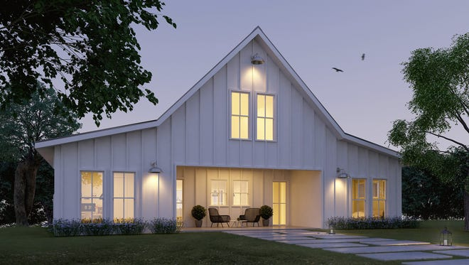 Simple yet dramatic, this clean-lined exterior will turn heads.