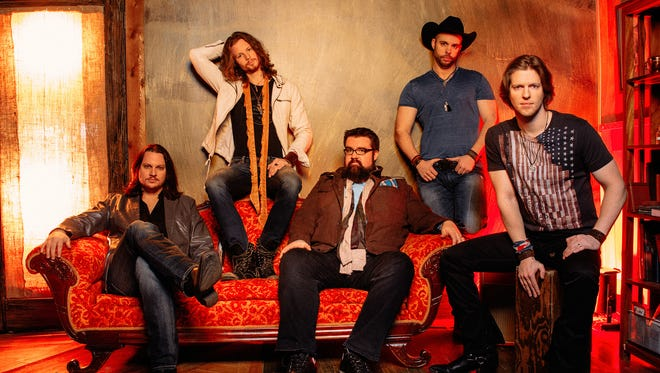 Country vocal band Home Free performs at the Montgomery Performing Arts Centre on Thursday.