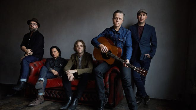 Jason Isbell and the 400 Unit perform May 6, 2018, at the Montgomery Performing Arts Centre.