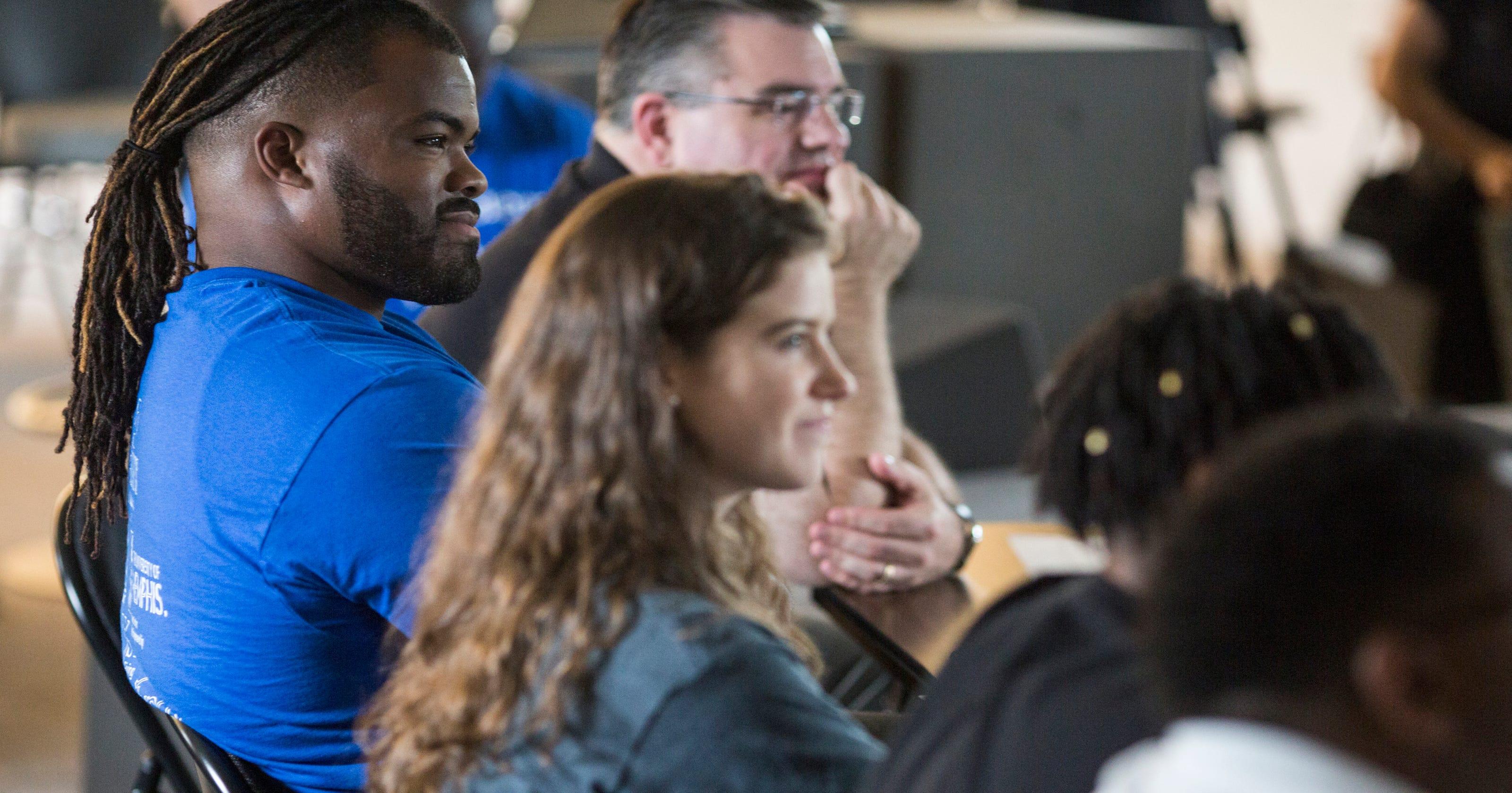 b0a8ca9ad Carolina Panthers: Dontari Poe returns to Memphis with entrepreneur,  football camps