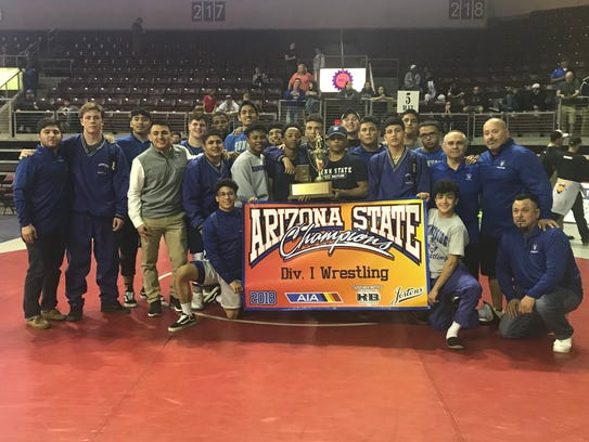Sunnyside after winning its 31st state team title in Division I.