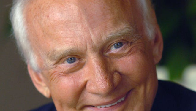 Former astronaut Buzz Aldrin has turned to social media to stir interest in the 45th anniversary of the Apollo 11 moon landing.