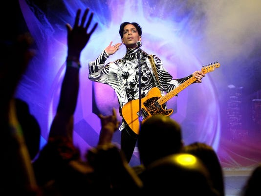 "(FILE) Prince Reportedly Dies At 57 Prince And Lotusflow3r.com Make History With ""One Night... Three Venues"""