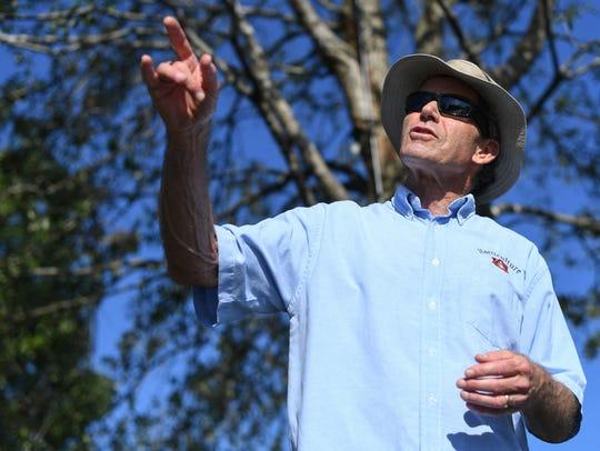 Auburn department of horticulture professor Gary Keever