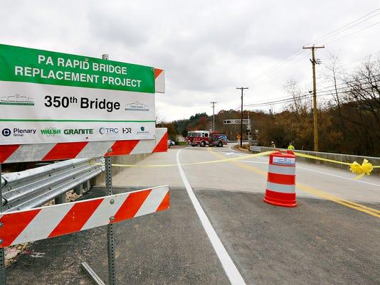 Route 616 Glen Rock Bridge opens