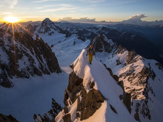 """""""Mountain"""" features climbers and high-altitude adventurers."""