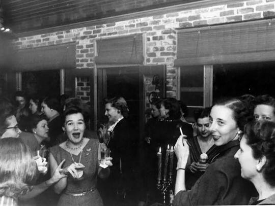 Junior League of Montgomery party, 1960.