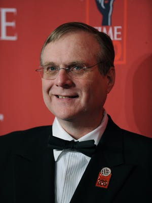 Paul Allen, Microsoft co-founder, arrives at Time Magazine's 100 Most Influential People in the World dinner in 2008.