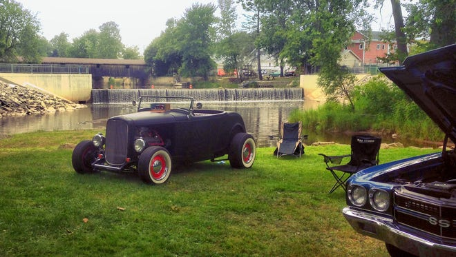 Classic cars will line Mishicot's Village Park during the community's annual Riverfest.