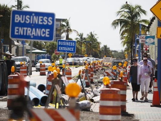 Image result for construction on Fort Myers Beach