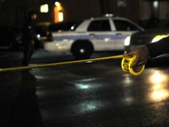 generic crime tape police car