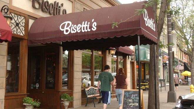 Bisetti's Ristorante is booked through its closing date.