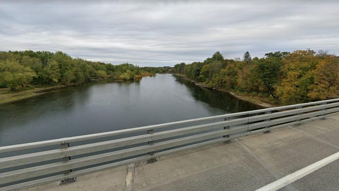 The Delaware River is seen here looking toward the Port Jervis, N.Y., side in this Google Maps image. Port Jervis City Police Chief William Worden said a 13-year-old city boy drowned in the river on Saturday, with his body recovered by a dive team just near this bridge.