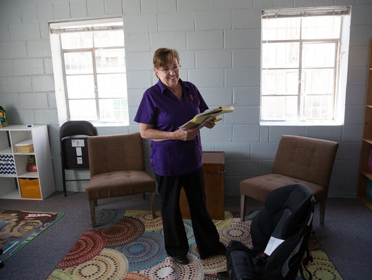 Diana Kinney, a program director with New Mexico First