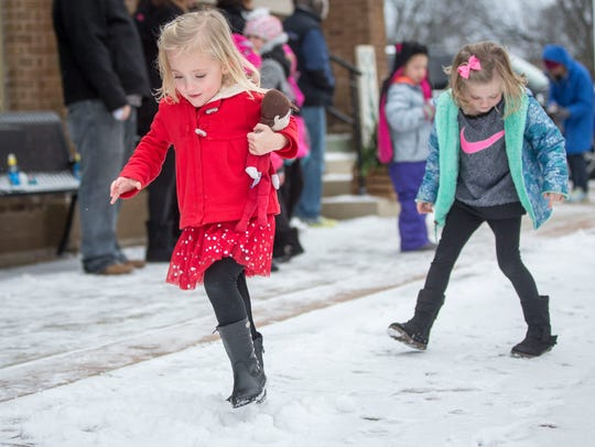 Community members and kids take part in the annual