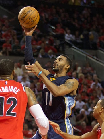 Mike Conley is headed back to Memphis for further evaluation