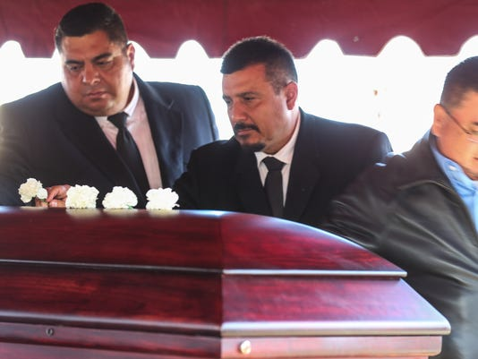 Funeral service for Sgt. Freddy Dietz Jr.