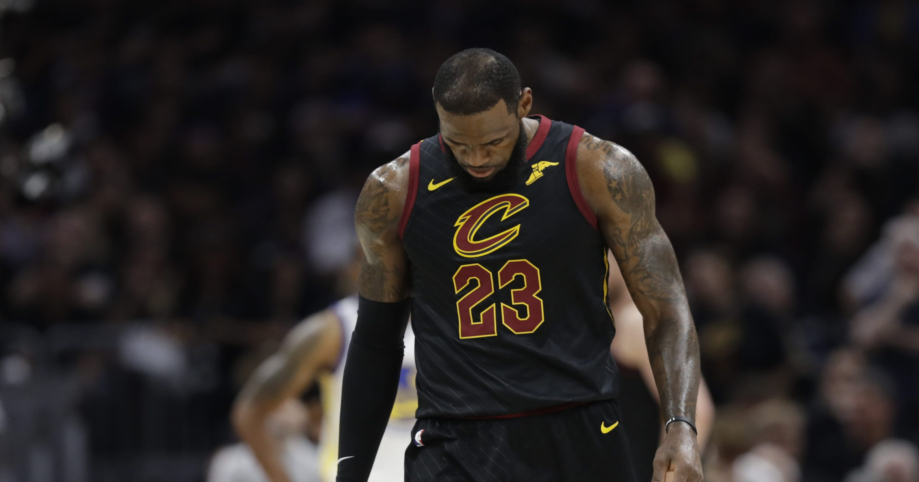 ddcda9b8158c Twitter reacts to LeBron and Cavs getting swept in NBA Finals