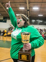 Saint Patrick Catholic School Principal Kathleen Smith,