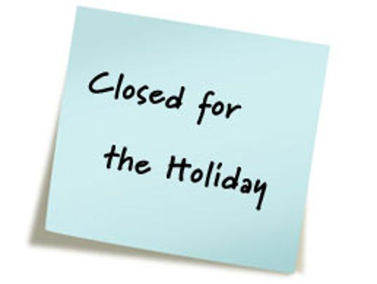 Local Governments Close For Thanksiving Holidays