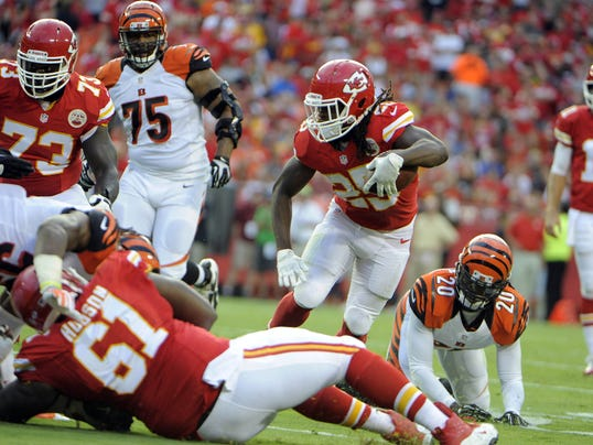 Kansas City Chiefs running back Jamaal Charles