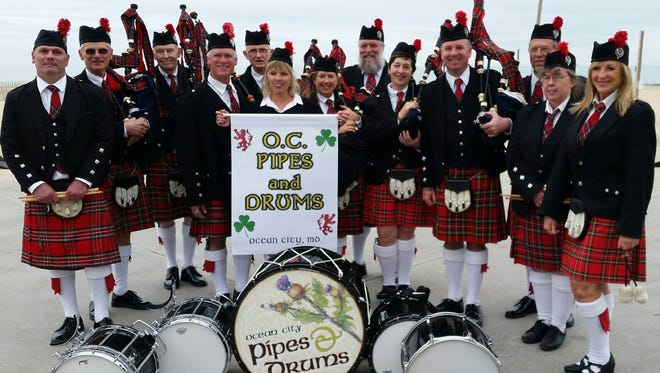 The OC Pipes and Drums band will entertain visitors at the Celtic Festival.