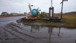 Mallard Island, a back bay neighborhood in Stafford,