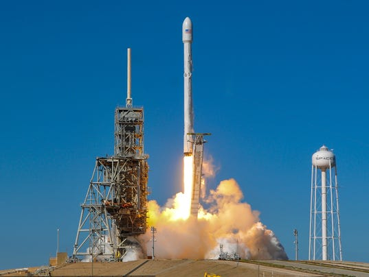 Elon Musk's SpaceX launch is a secret government mission