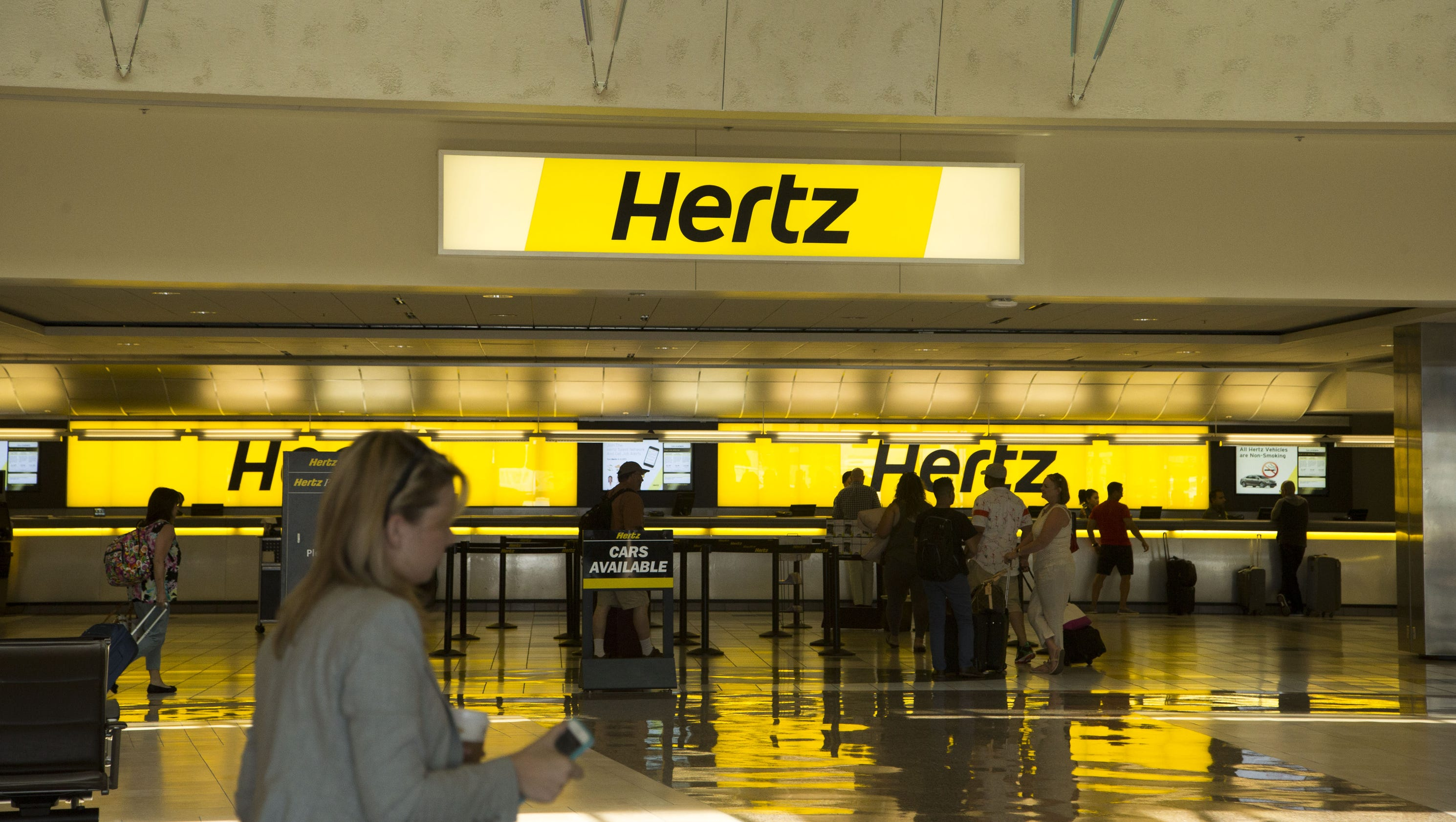 Hertz Car Rental Return Oakland Airport