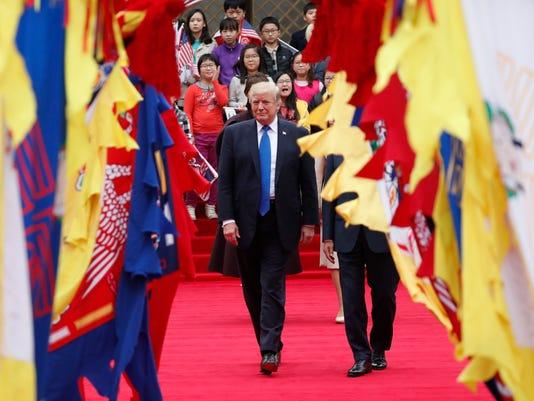 President Trump South Korea