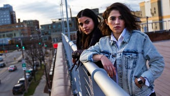 """Hannah """"Gabby"""" Gabriela Banuelos (left) and Victoriah """"Vic"""" Banuelos of Reyna have two songs on the Journal Sentinel's best Milwaukee songs list this year: """"Spill Your Colors"""" and """"Kill Me."""""""