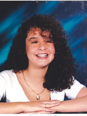 Melisza Campos in 8th grade
