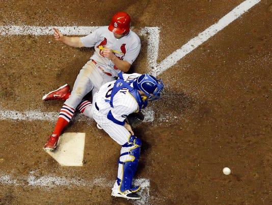 APTOPIX Cardinals Brewers Baseball