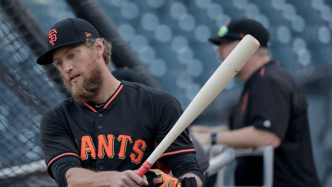 Hunter Pence and the Giants faced six elimination games in 2012, winning them all.