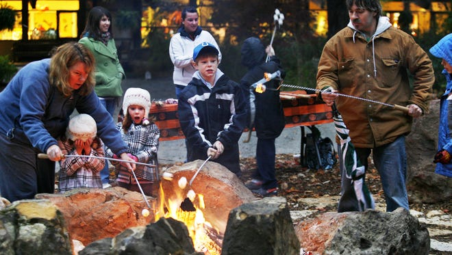 Holliday Park's Hauntless Halloween program for families includes an informative 30-minute hike into the forest, followed by crafts, s'mores and refreshments.