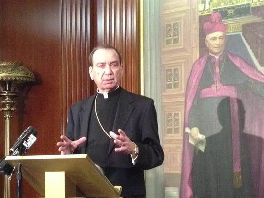 Archbishop Dennis Schnurr of Cincinnati.