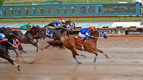 Percyjones highlighted Saturday's Zia Derby trials in Ruidoso.