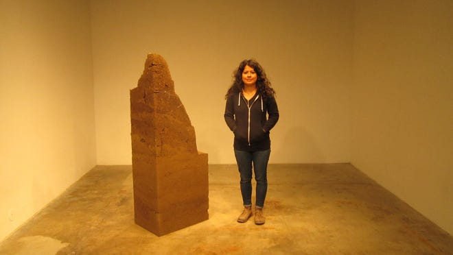 "In April, The Arts Visalia Arts Center hosts Patricia Rangel's exhibition ""Conectado A Tierra, Grounded."" The work on display will be large dirt sculptures on the gallery floor and various wall pieces. A reception for Rangel is 6-8 p.m. Friday, April 7 at Arts Visalia. Regular gallery hours are noon to 5:30 p.m. Wednesdays through Saturdays."
