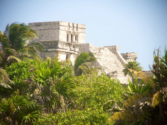 Tulum, the Maya archaeological site in Mexico's Yucatan