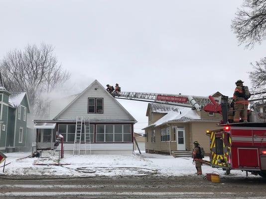 Structure Fire on Prairie Avenue