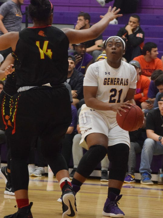 Louisiana State University at Alexandria men's and women's basketball teams play the University of St. Thomas Celts Thursday, Jan. 12, 2018 at the Fort.
