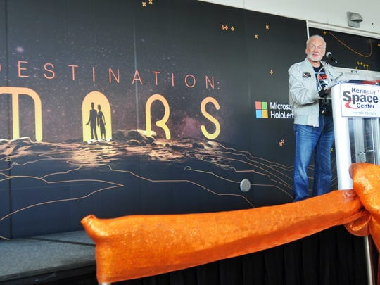 Buzz Aldrin, chairman of ShareSpace Foundation and